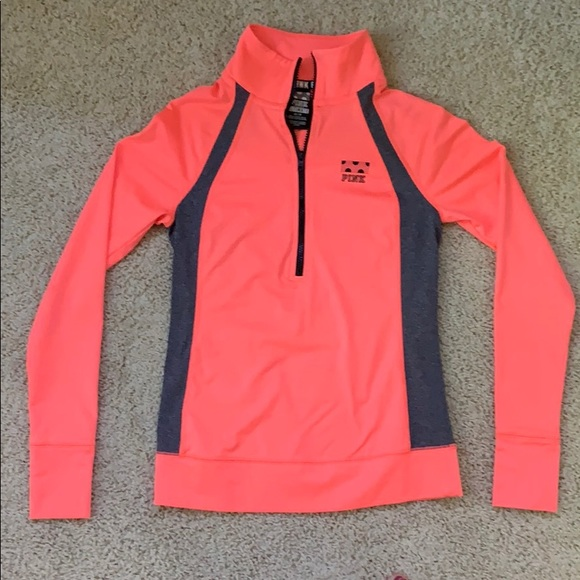 PINK Victoria's Secret Tops - PINK 3/4 Zip Up